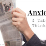 Anxiety and Tabloid Thinking