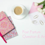 Post Partum Anxiety and Fear of Death
