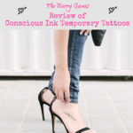 Product Review:  Conscious Ink Temporary Tattoos